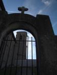 Iglesia parroquial de Bitoriano está construida en un altozano, separada del pueblo y a la vista de todos. Está dedicada a San Julián y Santa Basilisa